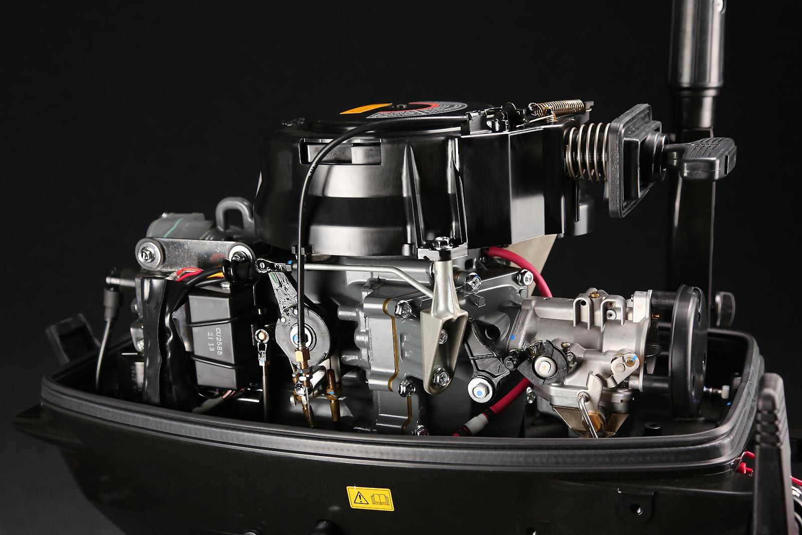 Ремонт лодочный мотор сузуки 15